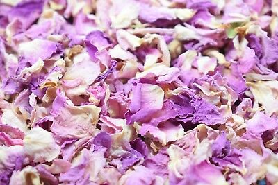 Natural Dried Petal Biodegradable Wedding Confetti 1L Pink Ombre
