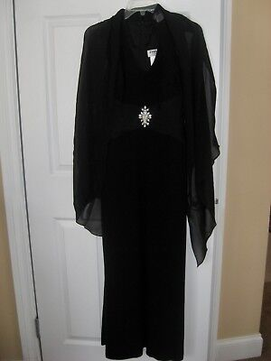 Daymor Couture  Size 8 Evening Gown with Shawl to match NWT.FORMAL,WEDDING.