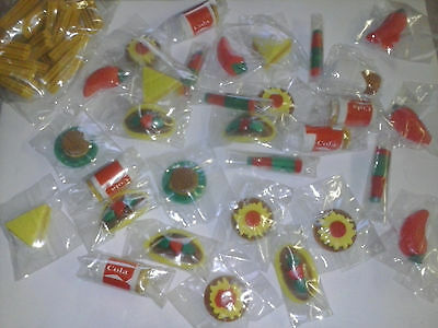 100 Cantina Erasers for vending or Party Favors