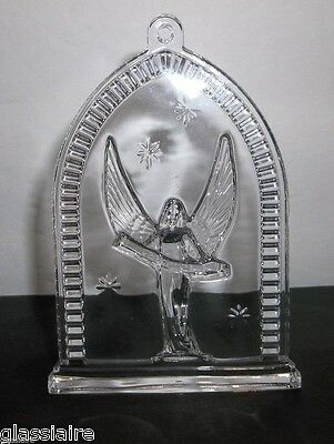 Waterford Crystal Christmas Ornament 2008 NATIVITY ANGEL 4.5""