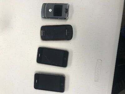 4 Used Cell Phones