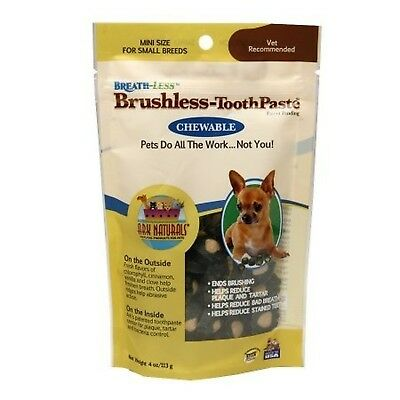 Ark Naturals Breath-Less Brushless-ToothPaste Small Breeds 4.0 oz.(PACK OF 2)...