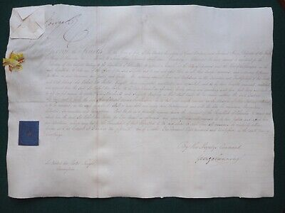 Signed Document King George IV George Canning Appointing Sir Robert Ker Porter