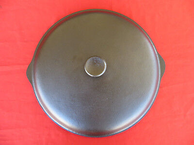 Large Vintage BSR Pioneer Series #12 Cast Iron Lid Dutch Oven Skillet LOOK 1233
