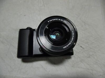 (Camera and Lens ONLY!!!) Sony a5000 Camera with E 3.5-5.6/PZ 16-50 OSS Lens