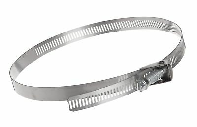 """Dixon LS128 Stainless Steel 301 LS Style Quick Release Worm-Drive Clamp, 1/2""""..."""