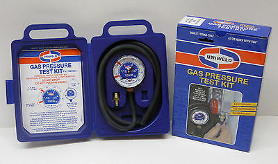 45503 Uniweld Gas Pressure Test Kit Set Manifold Pressure for Natural or LP Gas