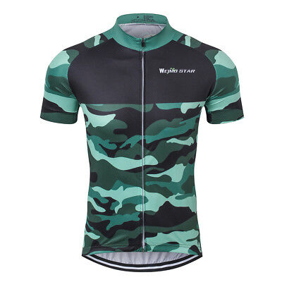 Camouflage Men Cycling Bike Jersey Short Sleeve Outdoor Sports Maillots  S-XXXL 33aec8cc6