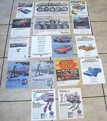 AMC 1971-1973 AMX Javelin Ads & Articles, Trans Am Victory Javelin Mark Donohue