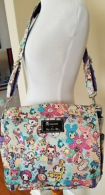 NWT Tokidoki Jujube PERKY TOKI Better Be Diaper Bag Messenger Donutella!