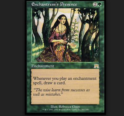 Enchantress's Presence  Onslaught Excellent+ Magic The Gathering