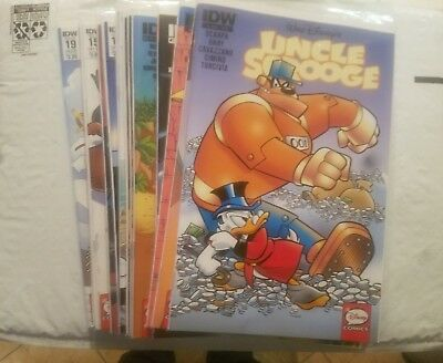 IDW (Lot of 18) Uncle Scrooge #1 4 5 7 8 9 10 11 12 13 14 15 17 19 23 24 33 33