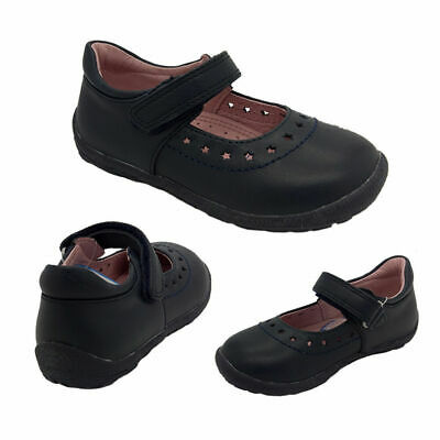 Girls Shoes Surefit Alannah Leather Mary Jane Hook and Loop Size UK 4.5-11.5 NEW