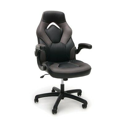 Executive Racing Bucket Seat Gaming Office Desk Chair High Back PU Leather New