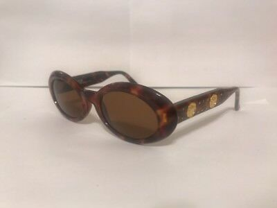 8b46f367af Like us on Facebook · Gianni Versace Mod 527 B Col 869 Brown Gold Authentic  Vintage Medusa Sunglass