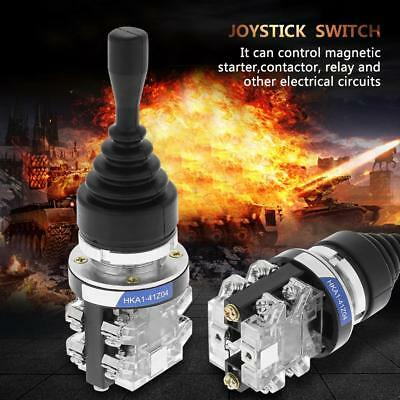 HKAI-41Z04 4-Position 4NO Spring Return Momentary Joy Stick Joystick Switch cf
