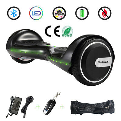 6.5 electric scooter electric scooter hoverboard Bluetooth LED remote controll