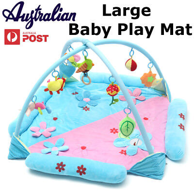 Newborn Baby Musical Sensory Play Mat With Music & Toys Activity Developmental
