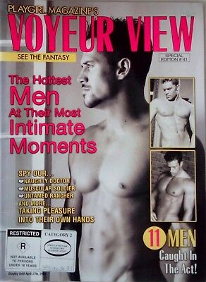 Playgirl magazine - Voyeur View special edition 41 from 2004