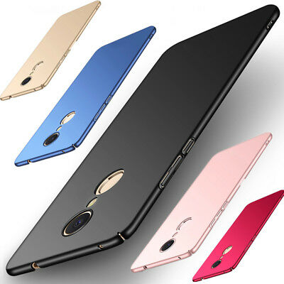 For Xiaomi Redmi 7 Note 4 5A 4X Pro Luxury Slim Mate Hard Shockproof Case Cover