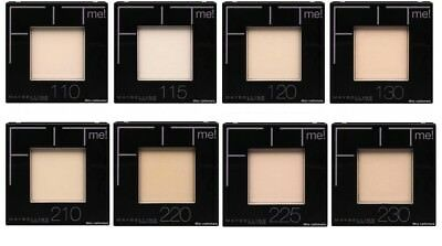 Maybelline Fit Me Pressed Powder *choose Your Shade* New Damaged Case