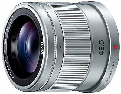 Panasonic LUMIX G 42.5mm/F1.7 ASPH./POWER H-HS043-S Silver Lens F/S w/Tracking#
