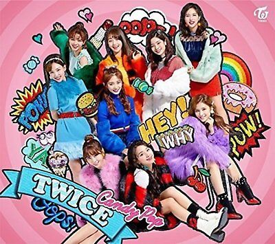 TWICE Candy Pop First Limited Edition Type B CD DVD Card WPZL-31405 F/S w/Track#