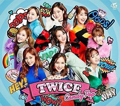 TWICE Candy Pop First Limited Edition Type A CD DVD Card F/S w/Tracking# Japan