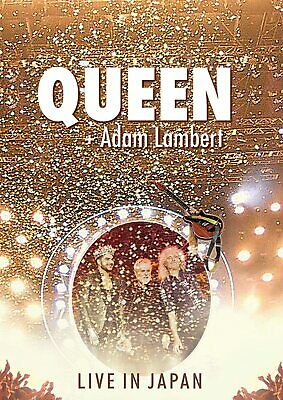 QUEEN Adam Lambert Live in Japan Summer Sonic 2014 Blu-ray CD GQXS-90248 F/S NEW