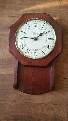 Antique abbey wall clock*Wood Frame , for spare or repair.