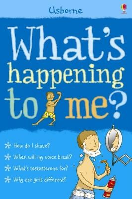 Usbourne Whats happening to me Boys Edition by Alex Frith Nancy Leschnikoff