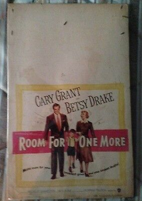 Vintage ROOM FOR ONE MORE Movie Poster (1952) CARY GRANT - BETSY DRAKE