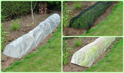 Fleece Net Poly Cover Grow Tunnel Cloche Insect Plant Protect Garden Allotment
