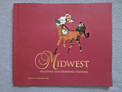 Midwest Training And Breeding Stations Book ~ Arabian Horses ~ Coffee Table Size