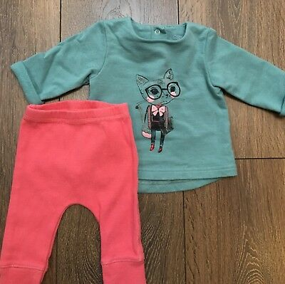 mamas and papas outfit set Baby Girl 0-3 Months