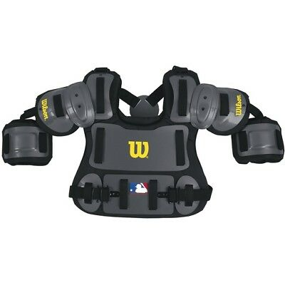 """Wilson 13"""" Baseball Umpire Fitted Chest Protector, New"""