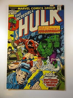 The Incredible Hulk #172 Fine/VF Condition Awesome Read!! W/ Juggernaut!!
