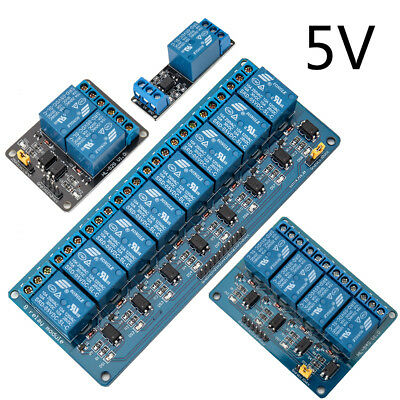 Channel Board  Relay Module 5V 1/2/4/8 For Arduino Raspberry Pi ARM AVR DSP PIC