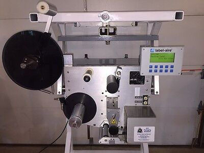 "Label-Aire 3111-1500 4""/12"" RH Air-Blow Label Applicator"