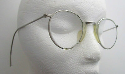Vintage CESCO #24 Steampunk Safety Glasses Antique Industrial Goggles Motorcycle