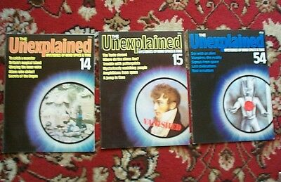 THE UNEXPLAINED MAGAZINE mysteries of mind, space & time - No: 14, 15, 54