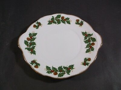 Queen's Yuletide cake plate