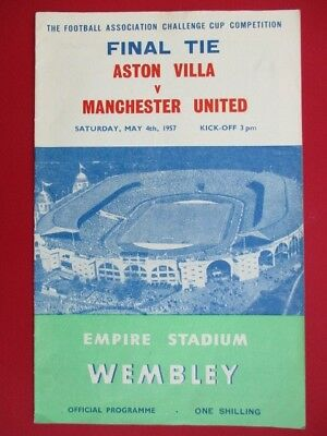 Aston Villa v Manchester United 1957 (FA Cup Final)