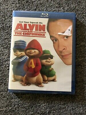 **BRAND NEW** ALVIN AND THE CHIPMUNKS (Blu-ray Disc, 2009)