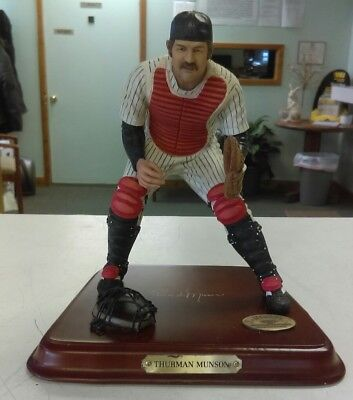 "2003 Danbury Mint New York Thurman Munson 7"" Figure"