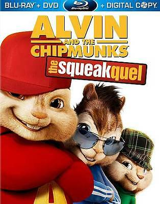 **BRAND NEW** ALVIN AND THE CHIPMUNKS: THE SQUEAKQUEL (Bluray Disc/DVD/DC, 2010)