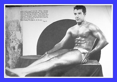 Physique Pictorial Vol5 No2 Male Semi Nude Photo Gay Teen Posing Muscle 6x4 Men