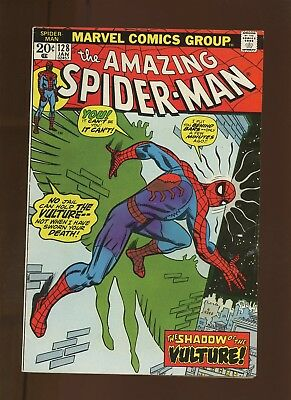 Amazing Spider-Man 128 FN 6.0 * 1 Book * Vulture Hangs High by Conway & Andru!