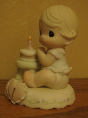 """NEW Precious Moments Growing In Grace """"Age 1"""" 136190 Blonde Version"""