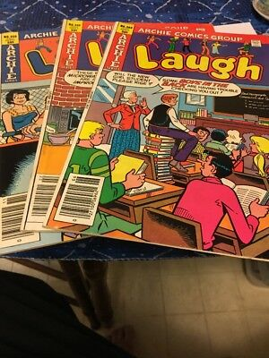 Vintage Archie Comic Books Mixed Lot (1980's)